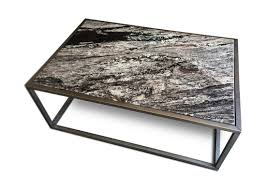 contemporary granite top coffee table kb furnishings modern