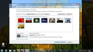 changer l arri e plan du bureau windows 7 choisir un dossier d images pour l arriere plan du bureau
