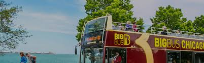 Hop On Hop Off Chicago Map by Classic 1 Day Chicago Tour Ticket Big Bus Tours