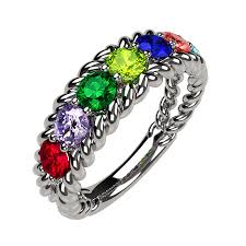 mothers rings pictures images Mothers birthstone rings png