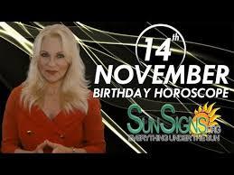 by priya captions 8 nov 2014 november 14 birthday horoscope personality sun signs