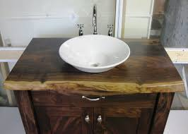 bathroom engrossing porcelain square vessel sinks rustic