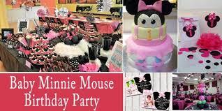 minnie mouse party supplies personalized baby minnie mouse birthday party supplies in india