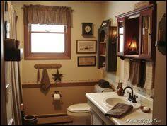 primitive country bathroom ideas primitive bathroom i wish i had windows in my bathrooms to