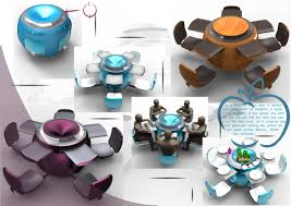 futurism interior style overview and examples futuristic study