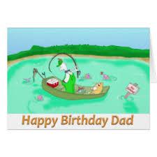 dad fishing greeting cards zazzle