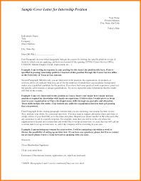 resume sample cover letter for banking summer internship nursing
