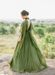 green wedding dress beautiful green wedding dress ideas 05 lovellywedding