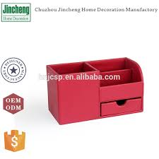 red office desk accessories decorative red plain stitching leather red desk accessories office