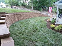 Terraced Retaining Wall Ideas by Change Modern Landscaping Ideas Retaining Wall Hillside