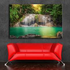 waterfalls for home decor hdartisan wall painting home decor landscape photography picture