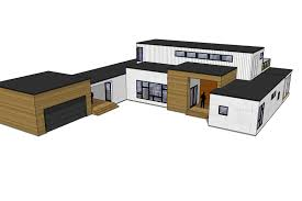 modern style house plans modern style house plan 4 beds 3 00 baths 2922 sq ft plan 909 4