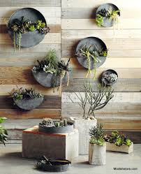 Indoor Wall Planters by Roost Orbea Zinc Circle U0026 Half Circle Planters Planters Small