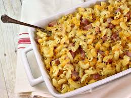 macaroni and cheese with ham it is a keeper