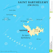 France Political Map by Saint Barthelemy Political Map Stock Vector Image 55715130