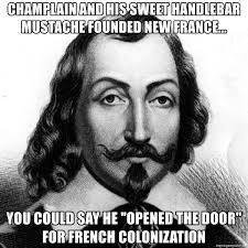 Handlebar Mustache Meme - chlain and his sweet handlebar mustache founded new france you
