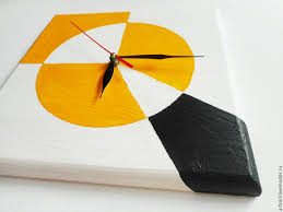 Shopping Online For Home Decor Buy Watch Supremo Avant Garde Wall Clock Hand Painted On Wood On