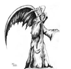 grim reaper tattoo art and designs page 29