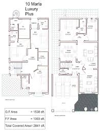 10 marla house layout plan home deco plans