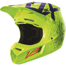 fox motocross clothes fox racing 2016 v3 cauz helmet yellow available at motocross giant