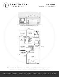 trademark homes floor plans awesome the aspen bungalow trademark