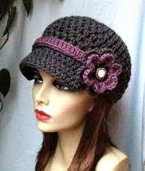 free pattern newsboy cap best 25 crochet newsboy hat ideas on pinterest crochet hat with free