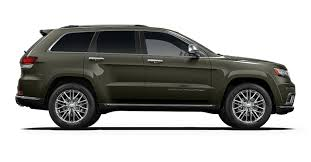 green jeep grand cherokee 2017 jeep grand cherokee colour options