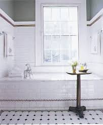 Black And White Bathroom Tiles Ideas by Black And White Bathroom Tile Large And Beautiful Photos Photo