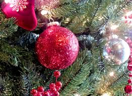 Glitter Christmas Tree Decorations by Red Glitter Christmas Tree Ornaments Two Sisters Crafting
