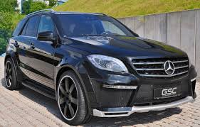 mercedes size suv german special customs turns mercedes ml into autobahn cruise