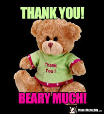Meme Teddy Bear - teddy bear greetings get well thank you and big bear hugs pg 1 of