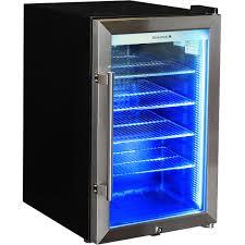alfresco tropical rated bar fridge triple glazed door and lock