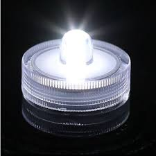 outdoor led tea lights 2pc white submersible battery led tea lights string led lights