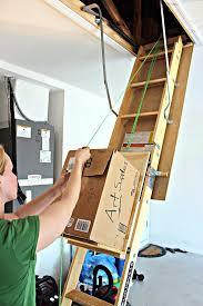 diy attic storage assistance diy fixated