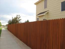 wood fence paint colors backyard fence ideas