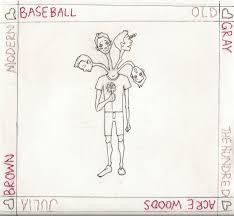baseball photo album 4 way v day split topshelf records