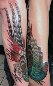 pheasant tattoo by tasha rubinow inborn tattoo nyc other