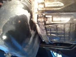 Ford Diesel Truck Fuel Leak - oil leak from back of engine powerstrokenation ford