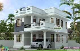 Home design small size latest neat and simple house plan kerala