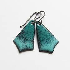niobium earrings drop and dangle earrings ox jewelry