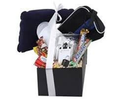 travel gift basket products tagged with branded travel themed gift basket blue