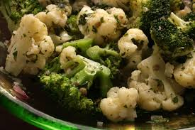 herbed cauliflower and broccoli salad recipe chowhound