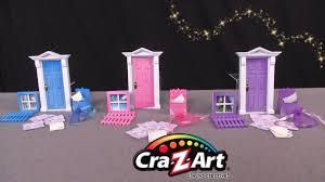 Fairy Door by Opening Fairy Doors From Cra Z Art Youtube