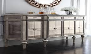 modern mirrored buffet table vanity decoration