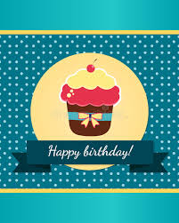 happy birthday card template stock vector image 52345527