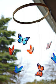 beautiful butterfly mobile mad in crafts