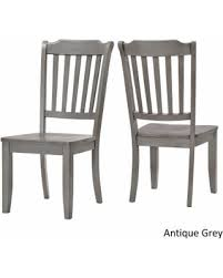 fall savings on eleanor slat back wood dining chair set of 2 by