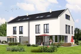 Hausanbieter Zwei Großzügige Moderne Doppelhaushälften Michael Rost