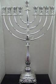 buy a menorah antiques sterling silver menorah brand new judaica wall