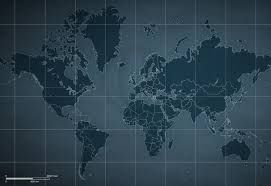 Mercator World Map by Vector Map World Mercator Europe Sci Fi One Stop Map